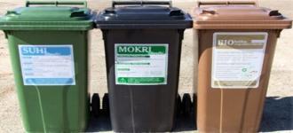 Spremenjen urnik odvoza mokrih odpadkov za  dan državnosti
